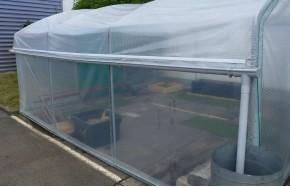 Kit récupération d'eau de pluie -2 longueurs- serre Mini Long. 12m00