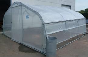 Kit récupération d'eau de pluie -1 longueur- serre 5ème Saison Long. 9m00