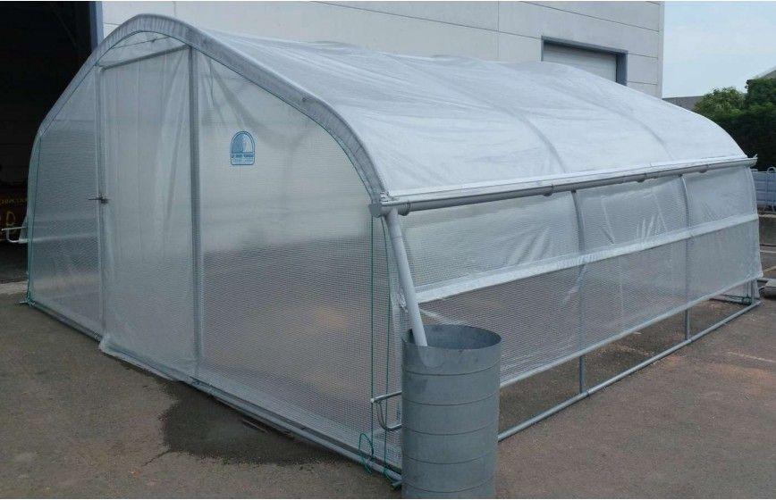 Kit récupération d'eau de pluie -2 longueurs- serre 5ème Saison Long. 6m00