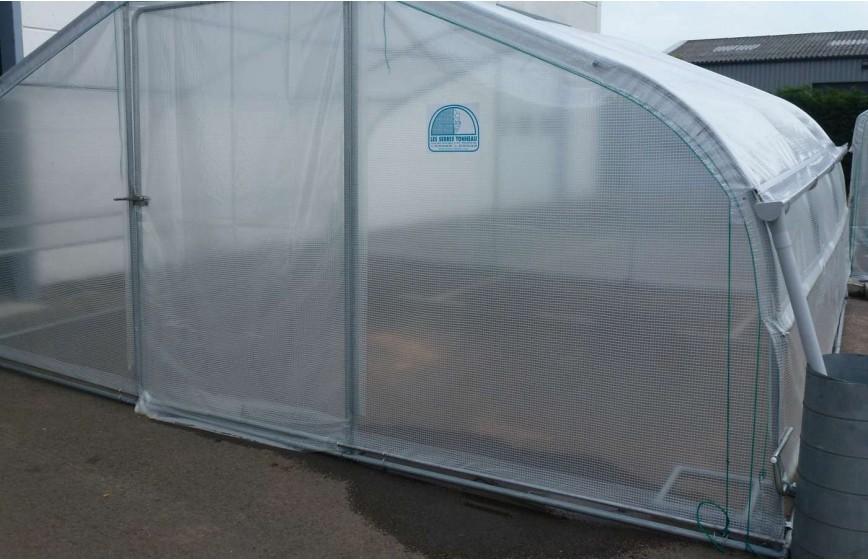 Kit récupération d'eau de pluie -2 longueurs- serre Super Long. 10m50