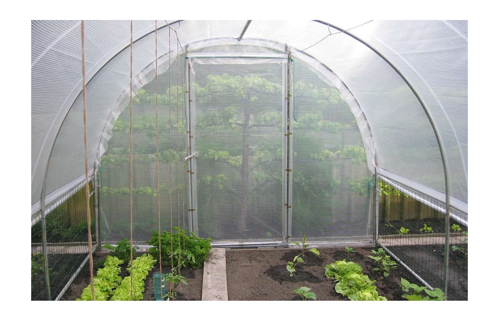 bache de toit serre jardiniere long 4m00 serres tonneau. Black Bedroom Furniture Sets. Home Design Ideas