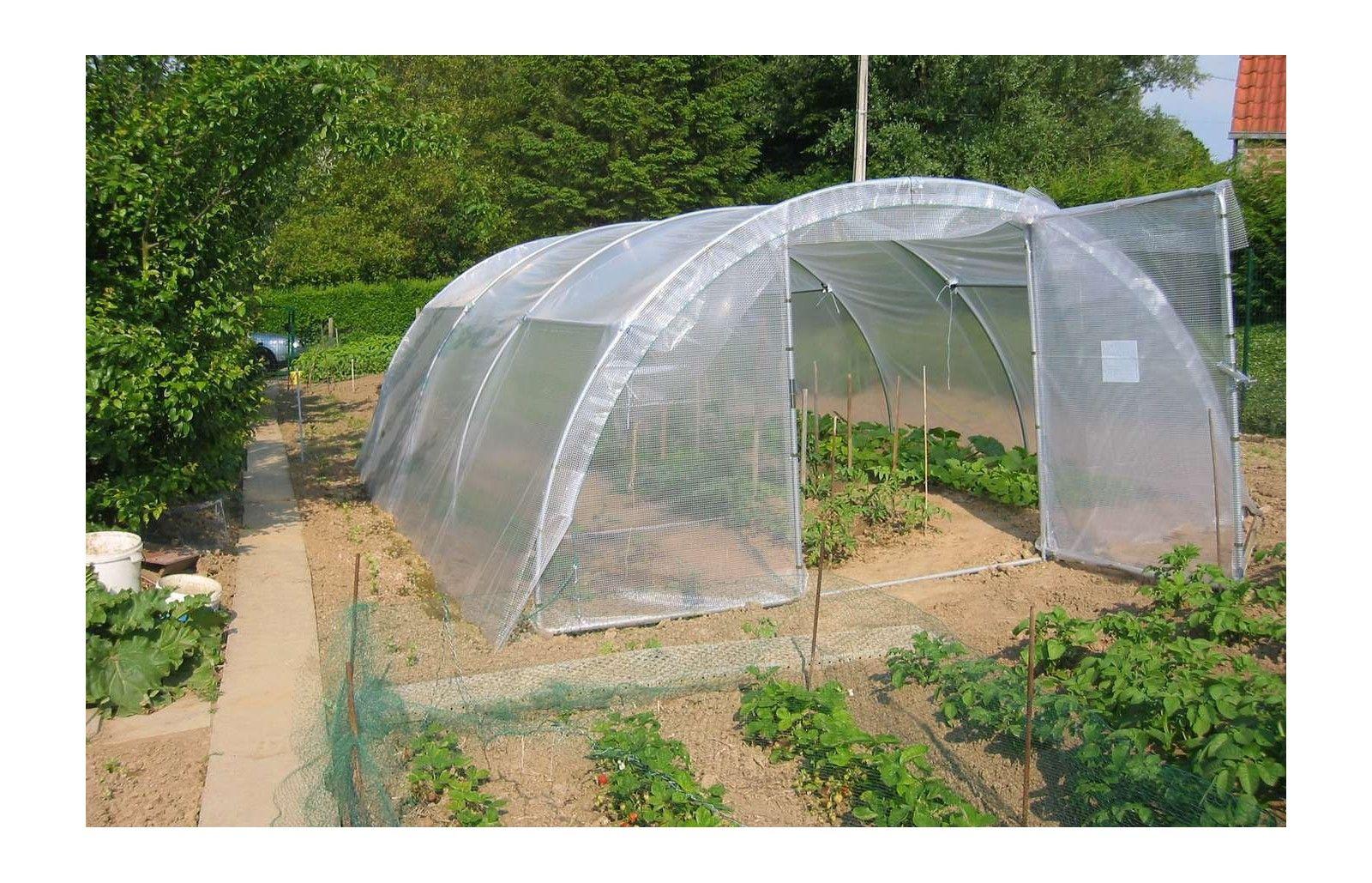 bache de toit serre abri legumes long 6m00 serres tonneau. Black Bedroom Furniture Sets. Home Design Ideas