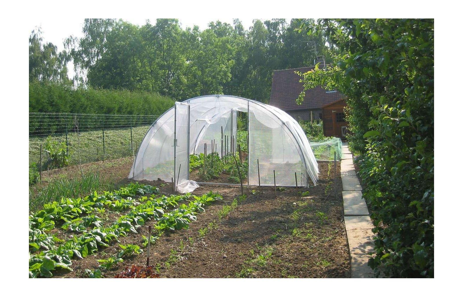 bache de toit serre abri legumes long 10m00 serres tonneau. Black Bedroom Furniture Sets. Home Design Ideas